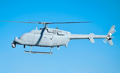 The MQ-8C Fire Scout. Photo courtesy US Navy